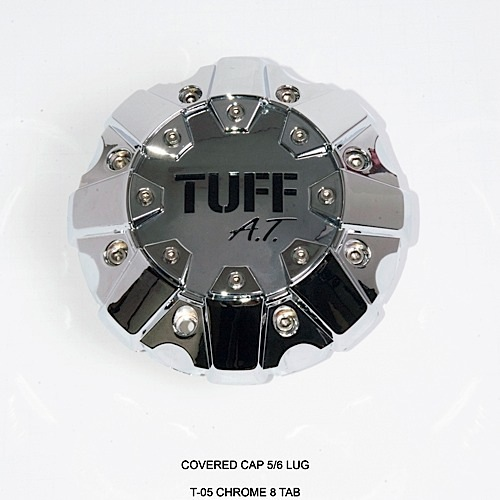 Center Caps Tuff AT 5/6 Lug 8 Tab Accessories