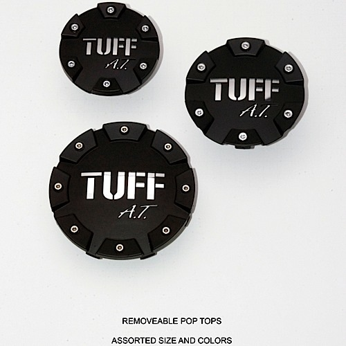 Center Caps Tuff AT Removable Tops Accessories