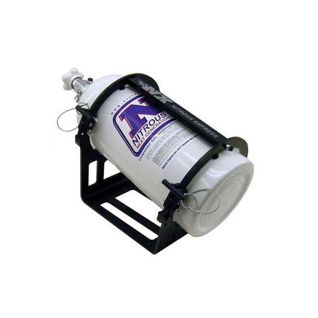 Nitrous Systems NX 10LB. Bottle Bracket : Billet Aluminum Race Accessories