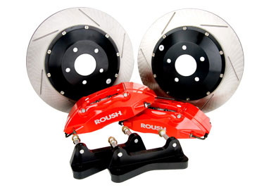 Brakes 2005-2014 Ford Mustang Front Brake Kit, High Performance Accessories