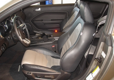 Seats 2005-2009 Mustang Leather Seats, Coupe w/ Factory Side Airbags Accessories