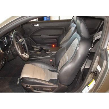 Seats 2005-2009 Mustang Leather Seats, Convertible w/ Factory Side Airbags Accessories