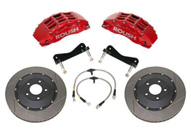 Brakes 2005-2014 Mustang Trak Pak High Performance Brake Kit Accessories
