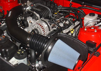 Engine/Transmission Upgrades 2005-2009 Mustang Cold Air Intake Kit for ROUSHcharger Accessories