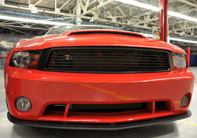 Grilles 2010-2012 Ford Mustang Grille Upper Accessories