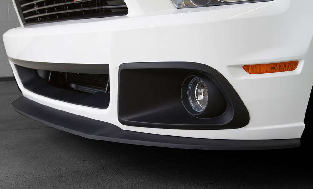 Body Kit 2013-2014 Ford Mustang - ROUSH Front Chin Splitter Kit Accessories