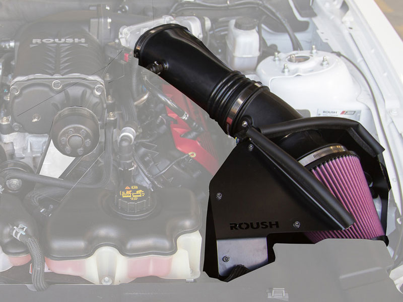 Engine/Transmission Upgrades 2011-2014 Mustang Cold Air Intake for ROUSH Supercharger TVS Accessories