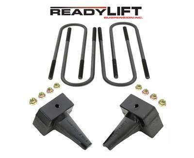 Suspension Ford F-250, F-350 Super Duty 4WD 5in Rear Block Kit Accessories