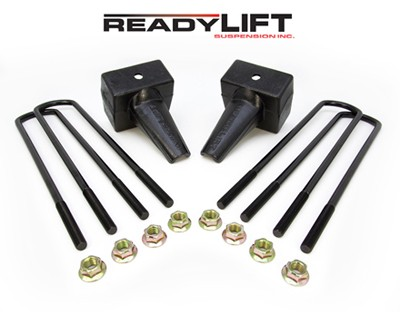Suspension 2011-2013 Ford Super Duty Dually 4 in. Rear Block Kit - 66-2024 Accessories