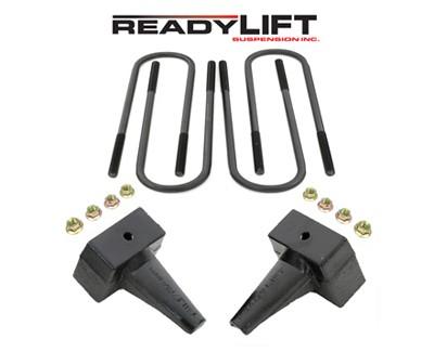 Suspension Ford F-250, F-350 Super Duty 4WD 5 in. Rear Block Kit Accessories