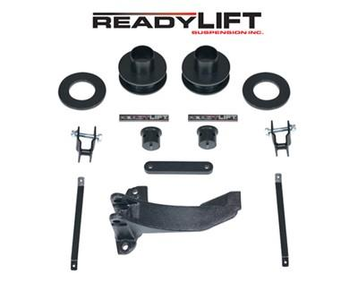 Suspension 2005-2007 Ford Super Duty 4WD leveling kit w/ track bar bracket - 66-2515 Accessories