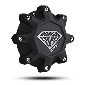 Center Caps DPR Replacement Cap 8 Lug - Diamond Logo Accessories