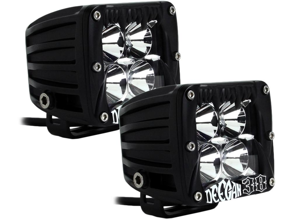 LED Lights DUALLY DEEGAN 38 SPOT PAIR 2014-2017 TOYOTA 4RUNNER-TACOMA-TUNDRA Accessories