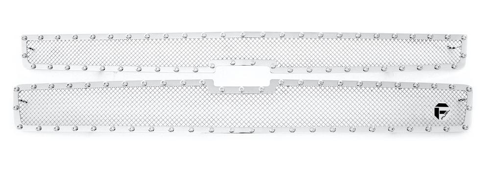 Grilles Chevrolet Silverado 1500 Chrome Mesh Grille Accessories