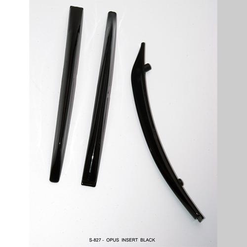 Center Caps S827 Opus Black Insert Accessories