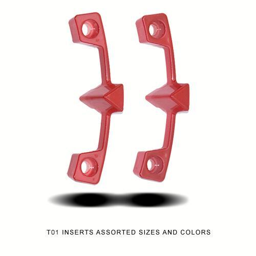 Center Caps T-01 Red Accessories