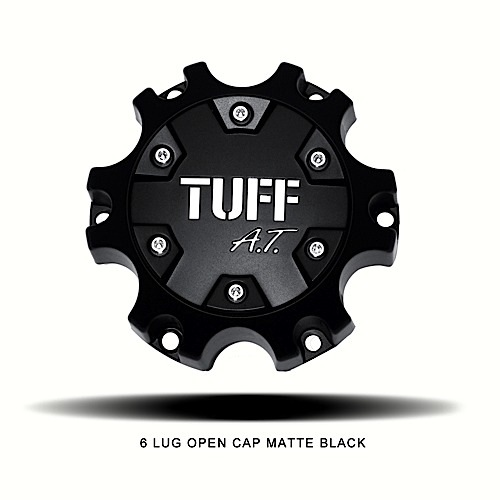 Center Caps Tuff AT 6 Lug Open Accessories