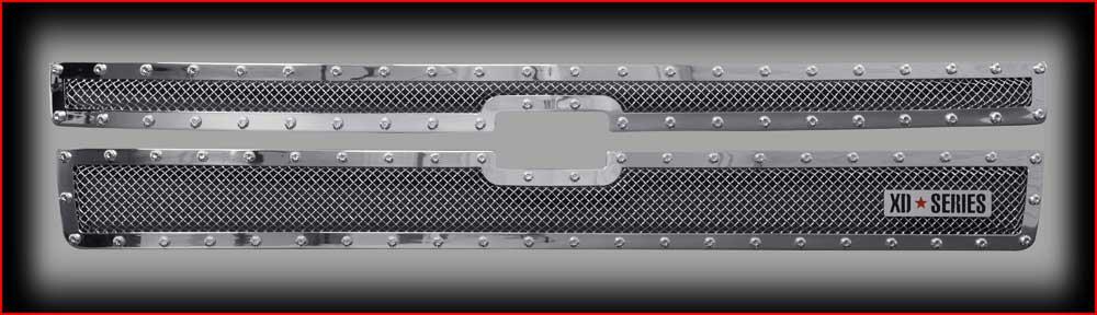 Grilles Chevrolet Silverado HD Grille 2007 - 2015ChevroletSilverado X711140 Accessories