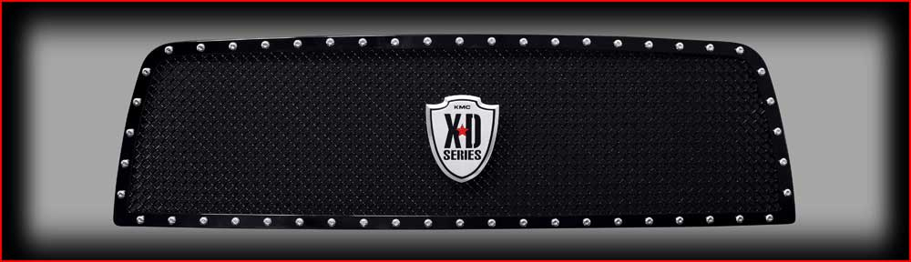 Grilles 2010-2012 Dodge Ram 2500-3500 Black Grille Accessories