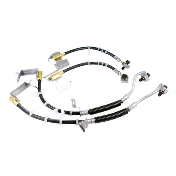 Brakes Brake Line Upgrade – Ford Racing 2005-2014 Ford Mustang GT / GT500 Accessories