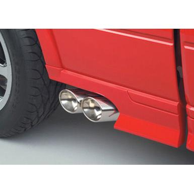 Exhaust 2004-2008 Ford F150 Exhaust Dual Side Exit Off-Road Accessories