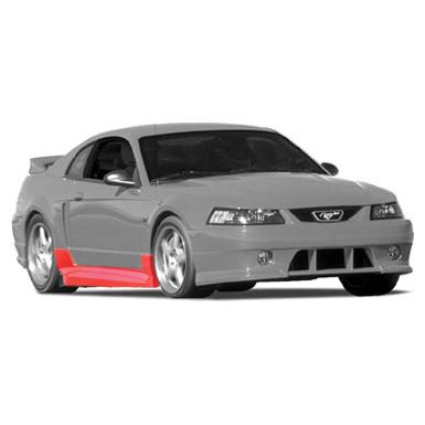 Body Kit 1999-2004 Mustang Side Valance LH Accessories