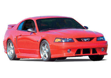Body Kit 1999-2014 Ford Mustang Body Kit with Wing Accessories