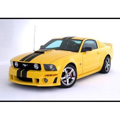 Body Kit 2005-2009 Mustang Racing Stripes, Coupe Kit w/ROUSH Body Kit Accessories