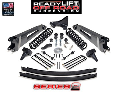 Suspension Ford Super Duty 5 in. Lift Kit - Series 1 - 2005-2007 - 49-2006 Accessories