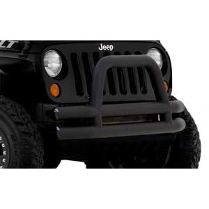 Flat Black Tube Bumper