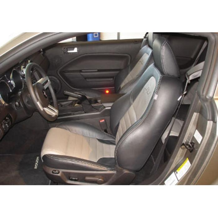 2005-2009 Mustang Leather Seats, Coupe w/ Factory Side Airbags