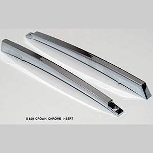 S828 Crown Chrome Insert