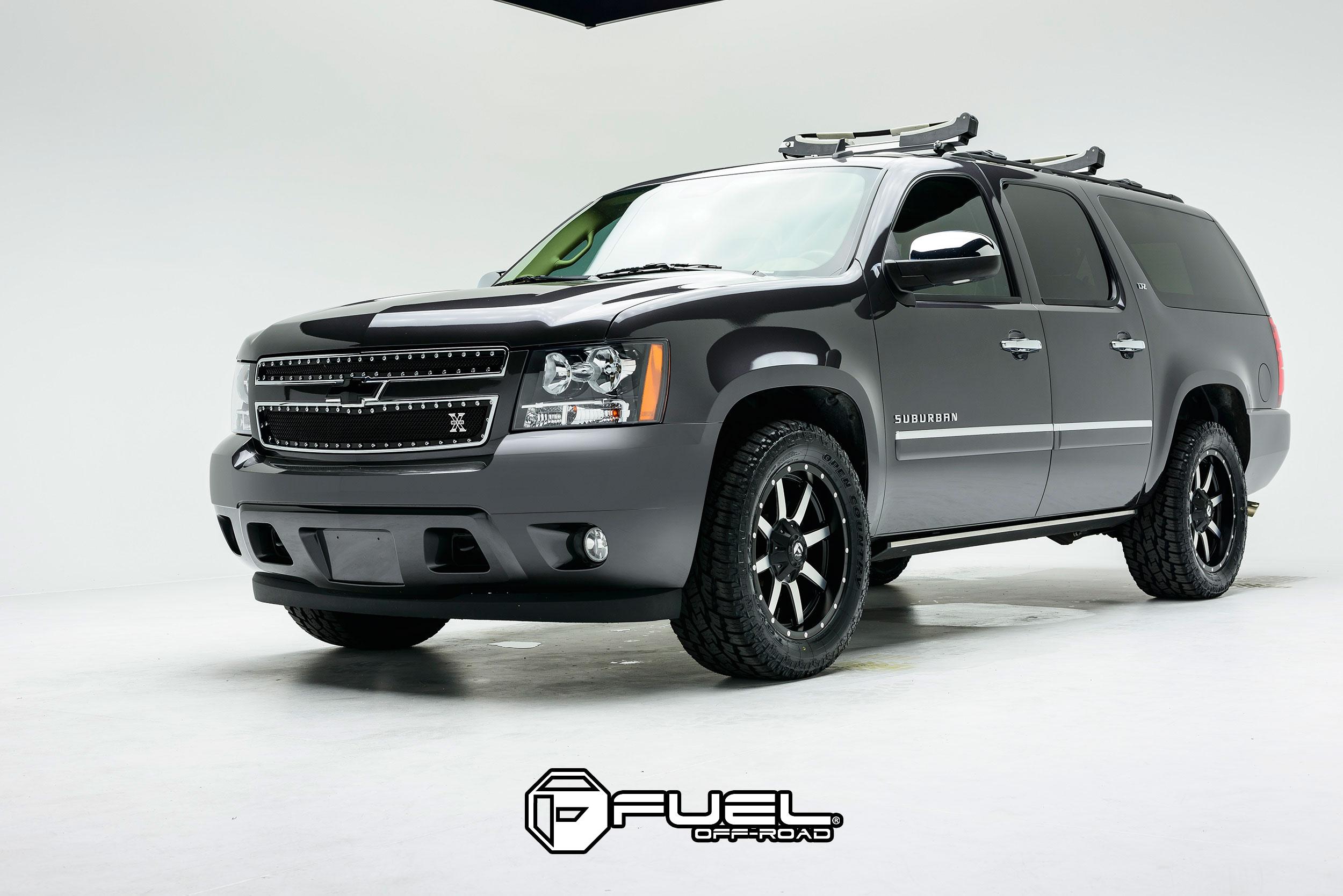 Fuel 1-Piece Wheels Maverick - D537 Wheels | Down South ...