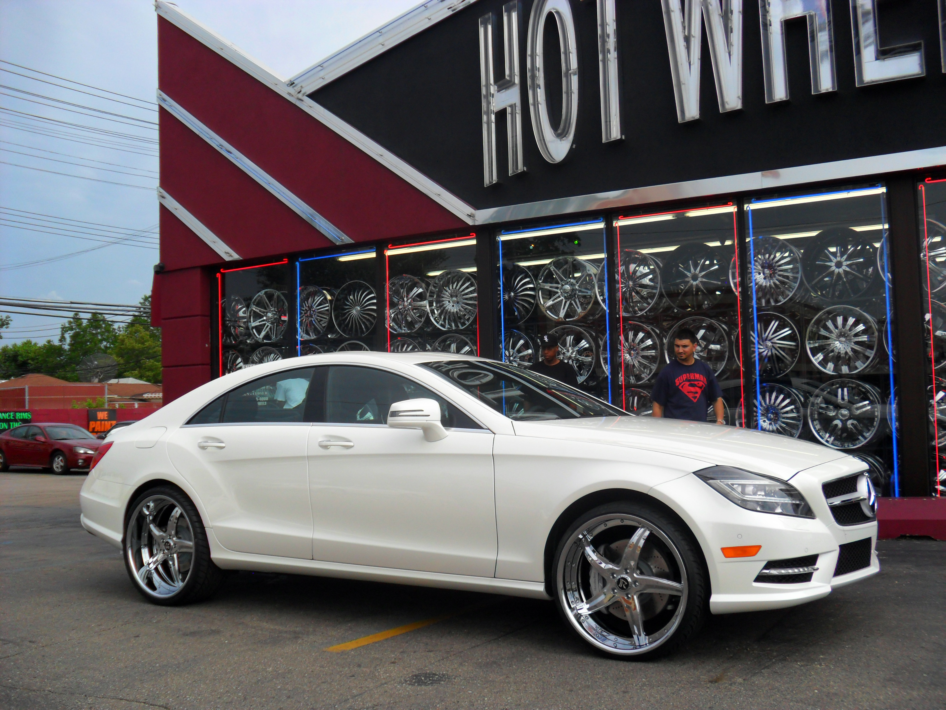 Gallery down south custom wheels for Mercedes benz cls550 4matic