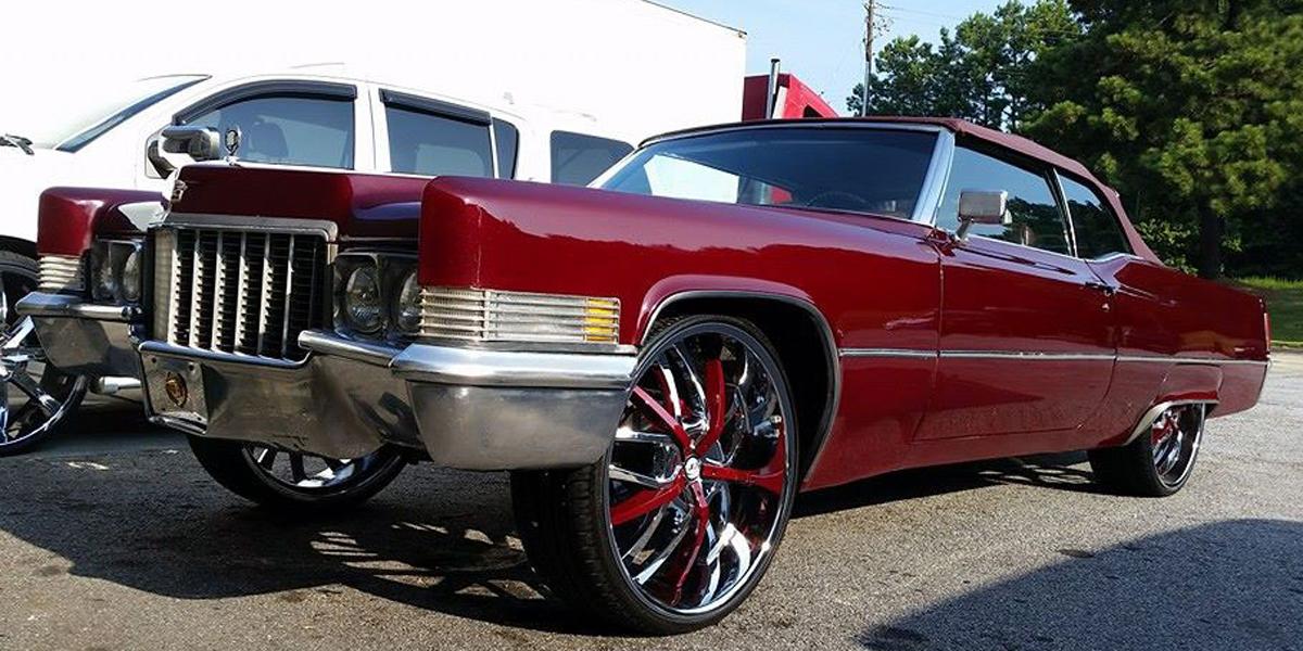 Cadillac Donk Vct Romano Chrome X