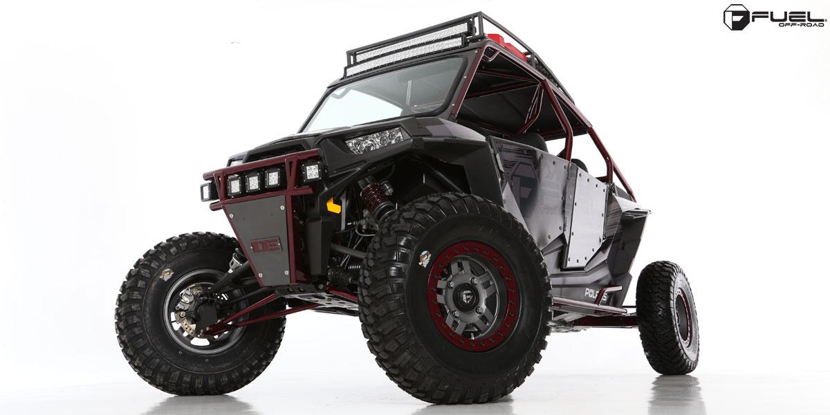 Polaris Rzr 1000 Turbo >> Fuel UTV Wheels Anza - D918 Beadlock Wheels | Down South