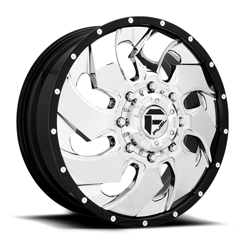 8 LUG CLEAVER DUALLY FRONT - D240