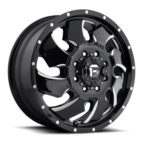 8 LUG CLEAVER DUALLY FRONT - D574