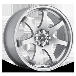 MSR Wheels 013 4 Silver