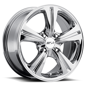 MSR Wheels 046 4 Chrome