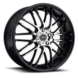 MSR Wheels 093 5 Black & Machined