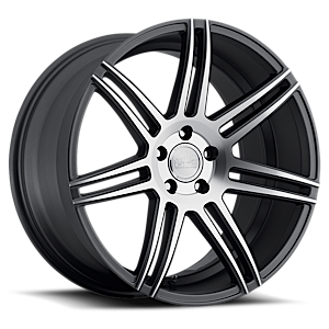 Concept One Wheels CSM - 7 5 Matte Black & Machined Face