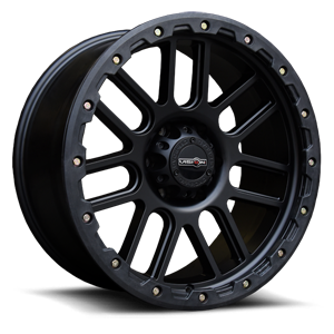 Vision Off Road 111 Nemesis 6 Matte Black