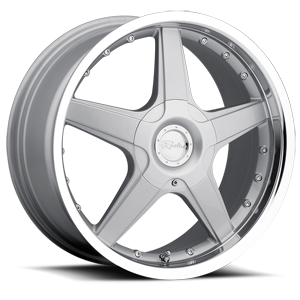 Raceline Wheels 125 5 Silver