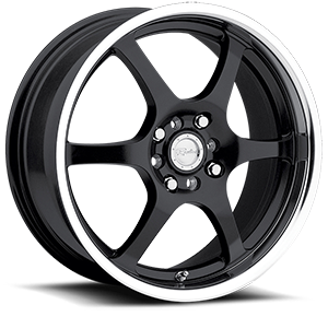Raceline Wheels 126 4 Black