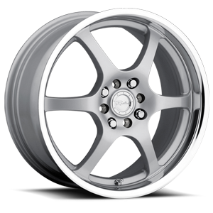 Raceline Wheels 126 4 Silver