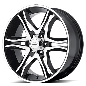 American Racing Custom Wheels AR893 Mainline 6 Gloss Black Machined