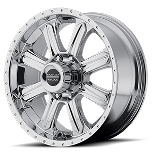 American Racing Custom Wheels AR619 Fuel 8 Chrome