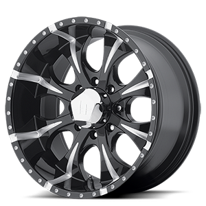 Helo Wheels HE791 MAXX 8 Gloss Black Milled