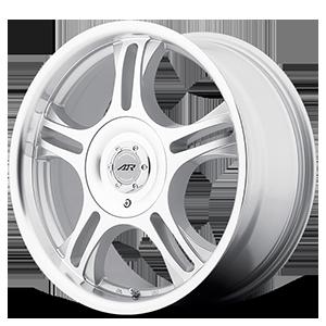 American Racing Custom Wheels AR95T Estrella 5 Machined w/ Clear Coat